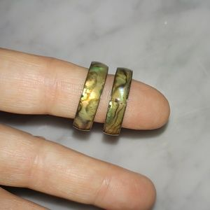 Mother of Pearl Rings, Wedding Bands
